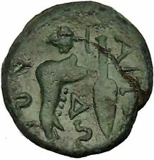 Aitolian League in Aitolia 211BC Spear Jawbone Calydonian Boar Greek Coin i53308