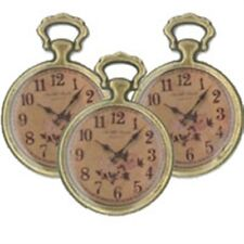 Steampunk style charm/embellishments-Pack of 3 small watches