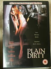 Dominque Swain Henry Thomas PLAIN DIRTY ~ 2001 Erotic Thriller | UK DVD