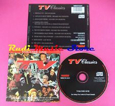 CD TV THEMES VOLUME ONE Compilation MBSCD 412/1 no vhs mc dvd(C39)