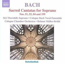 NEW - Bach: Sacred Cantatas for Soprano