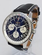Breitling Navitimer Chronograph A2332212 Men 42mm Steel Watch, Full Set,