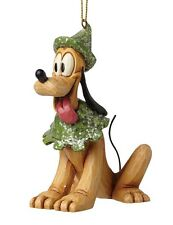 Disney Traditions Sugar Coated Pluto Hanging Christmas Tree Decoration