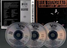 "ELLA FITZGERALD ""First Lady Of Song"" (3 CD Digibook) 1993"