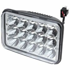 1P 4x6inch 45W LED Headlight Combo High Low Sealed Beam Driving Work Clear Lamp