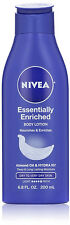 Lot of 3 Nivea Essentially Enriched Body Lotion, 6.8 oz - See Description