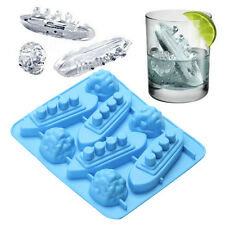 Silikon Ice Cube Trays Shaped Carving Mold Mould Maker Titanic For Party Drinks