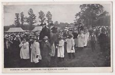 Dunmow Flitch, Chairing The Winning Couples 1920 Essex Postcard, B689