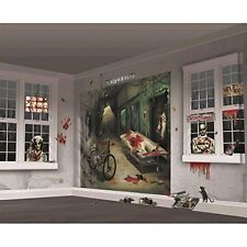 Amscan Halloween Party Scene Wall Decorating kit #335364