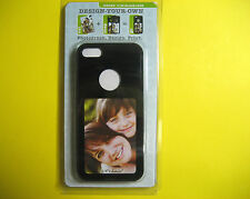 DESIGN YOUR OWN FOR APPLE CASE FOR IPHONE 5/5S BLACK COLOR