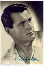 Rock Hudson ++Autogramm++ ++Hollywood Legende++2