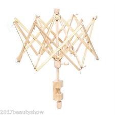 1PC Umbrella New Wooden(Birch) Swift Yarn Winder Holder 72cm x 63cm