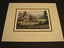 Country Elegance - Contemporary Canadian Art Card Series Print by Bill Saunders