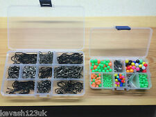 Sea Fishing Kit.600 + Items.Splits/Beads/Swivels/Crimps/Hooks + Free Gift.