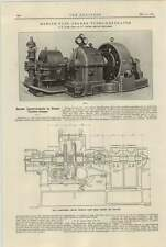 1921 Steam Turbine Improvements Wh Allen Bedford