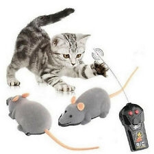 Wireless Remote Control RC Electronic Rat Mouse Mice Toy Cat Kitten Dog Pet Gift