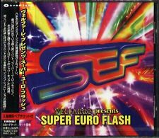 VELFARRE presents SUPER EURO FLASH - Japan CD - NEW LOU GRANT TOMMY K ROXANNE