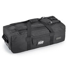NEW Mens Defcon 5 Travel Bag Holdall Suitcase with Wheels & Handle 70L Black