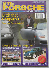 911 & Porsche World 10/2002 featuring 356A, Cayenne, TechArt , Cisitalia