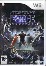"""  Star Wars - The Force Unleashed "" (Nintendo Wii)"