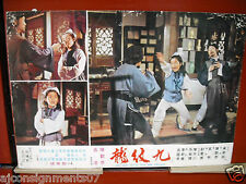 The Hero Tattoo With Nine Dragons Org Kung Fu Martial Arts Film Lobby Card 1970s