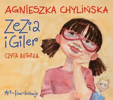 Zezia i Giler - Agnieszka Chylinska  NEW  MP3 CD Audiobook