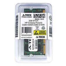 2GB SODIMM HP Compaq Presario CQ60-430SA CQ60-514NR CQ60-615DX Ram Memory