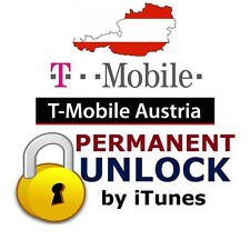 T-mobile Austria unlock factory iphone officiel déblocage désimlockage Autriche
