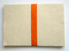 Natural Himalayan Paper for Scrapbook, Lokta Paper from Nepal - 100 sheet