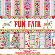 "FUN FAIR BY HELZ CUPPLEDITCH 6"" X 6"" SAMPLE PACK 12 DESIGN SHEETS PER PACK"