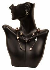 Necklace Jewelry Display Bust Pendant Show Case Mannequin Earring Holder Stand