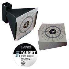 Kugelfang Trichterform + 500 JSB Target Sport Diabolos 4,5 mm + 120 Zielscheiben