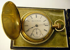 1891 Elgin 18s 15j Jas Boss 14K GF Pocket Watch