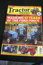 Tractor & Machinery Spring 2013. County 1124 & IH-275/Case 2670