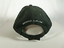 Men's Black Qatar Gas Hat Rare Adjustable Mideast UAE Arabic Adjustable Quality