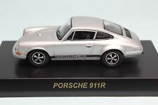 7270 Kyosho 1/64 PORSCHE 911R Silver Porsche Vol 3 Mint in Box Tracking number