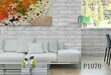 AU SELLER 45cmx10m Roll Brick Pattern Vinyl Furniture Wall Paper Sticker p1070