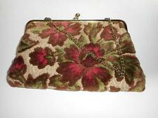 Vintage Tapestry Carpet Bag Small Handbag Clutch Purse