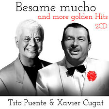 CD Xavier Cugar und Tito Puente Besame Mucho and More Golden Hits 2CDs