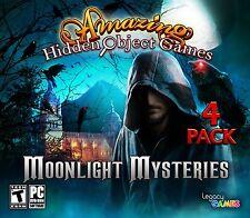 Moonlight Mysteries PC Games Windows 10 8 7 XP Computer hidden object games pack
