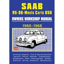 Saab 95-96 Sport and Monte Carlo 850 Owners Workshop Manual 1960-1968 book paper