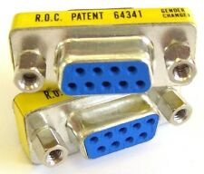 Serial Cable Adapter / RS232 Gender Changer, DB9 Socket to same (Female-Female)