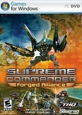 SUPREME COMMANDER FORGED ALLIANCE for PC SEALED NEW