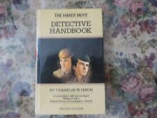 Hardy Boys Detective Handbook 1972 revised edition Like New Franklin W Dixon