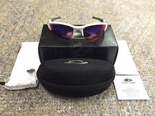 Oakley OO9009-07 Flak Jacket XLJ Polished White w/ Prizm Road Lens