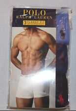 Polo Ralph Lauren Boxer Briefs 3 Pack Blue Men's Size XL 40 42