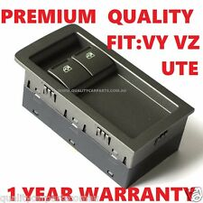 Power Window Master Switch 2 Button fits Holden Commodore VY VZ 02-06 Ute - Grey