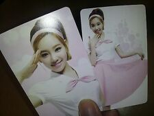 SNSD Girl's Generation GG plastic PHOTO CARD #3,9X2 Total 18 Sheet - mr sticker