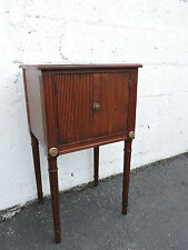 Walnut Nightstand End Table Side Table 7596