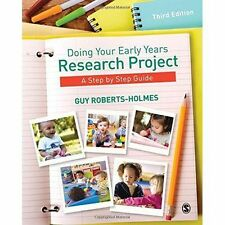 Roberts-Holmes, Guy-Doing Your Early Years Research Project  BOOK NEW